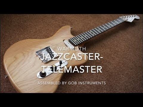Warmoth Jazzcaster Telemaster Offset Telecaster Fender CS Texas Special  Roasted Maple/Ebony Neck
