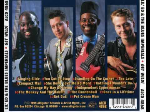Lil' Ed & The Blues Imperials - Get Wild! (Full Album)