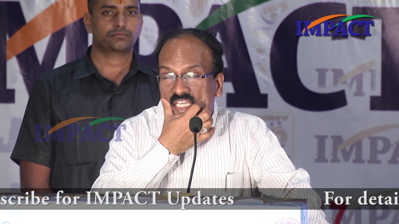 GHMC Commissioner Janardhan Reddy Interaction with Students of IMPACT'17  Hyderabad