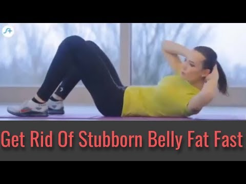 How To Lose Belly Fat Fast - Burn Stomach Fat Fast With These Exercises