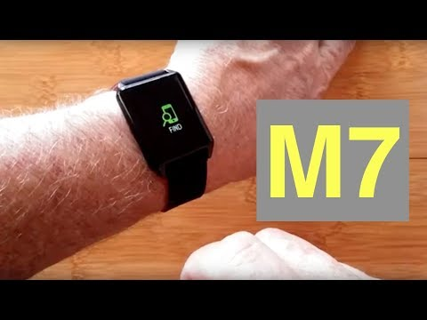 LYNWO M7 COLOR Screen Smartwatch with Unique Blood Pressure Measurements: Unboxing and 1st Look