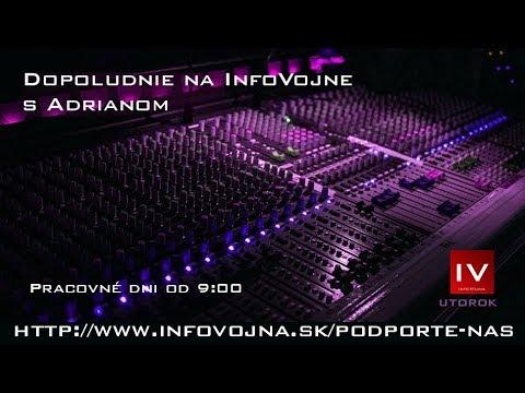 Dopoludnie na Infovojne s Adrianom  6.11.2018