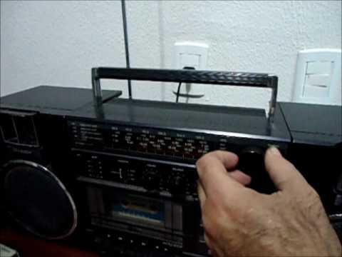 Micro System Sharp GfA1b Radio Toca Fitas K7 Antigo
