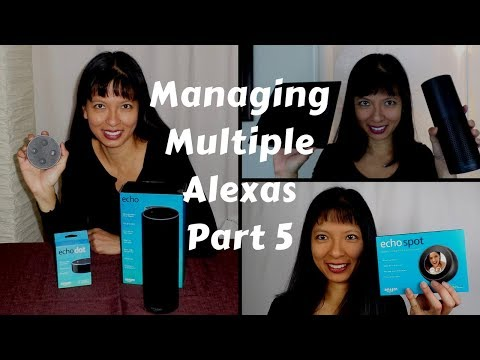 Managing Multiple Amazon Alexas Part 5: Drop-in with Echo Show and Echo Spot