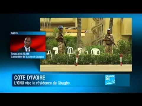 Abidjan bombardé par la France