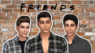 THE FRIENDS CAST AS SIMS (PART 2) | The Sims 4