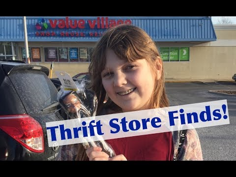Thrift Store Finds! Return to Maryland Value Village Stores! First 2018 Hunt for Bratz Dolls & More!
