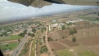 Landing at Kadapa Airport