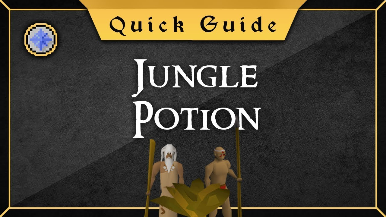 Quick Guide Jungle Potion Youtube