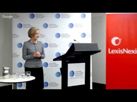 *LIVE* Launch of the Federal Discrimination Law 2016