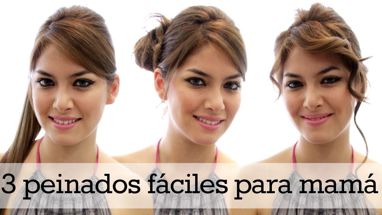 Peinados faciles para mamas