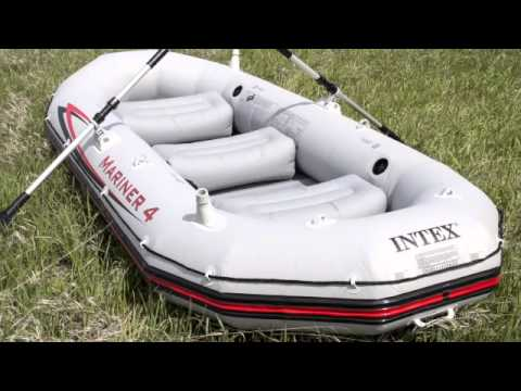 4 Person Inflatable Rafting Boat | Intex 68376EP