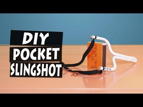 DIY Easy Pocket Slingshot at Home