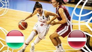 Hungary v Latvia - 3rd Place - Full Game - FIBA U18 Women's European Championship 2018