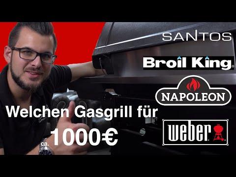Großer Gasgrill Vergleich - Weber Vs. Broil King Vs. Napoleon – Bester Gasgrill Für 1000€