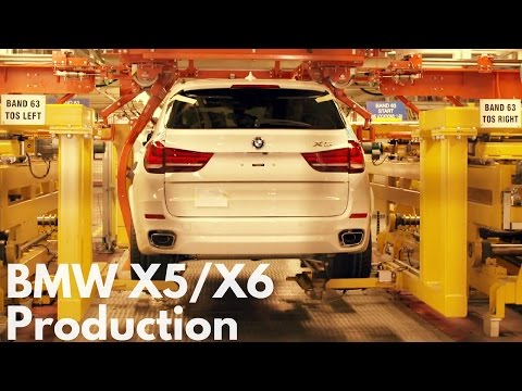 BMW X5/X6 Production in South Carolina