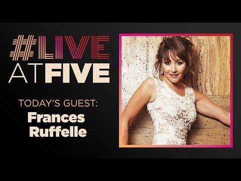 Broadway.com #LiveatFive with Frances Ruffelle