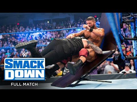 FULL MATCH - Roman Reigns vs. Robert Roode – Tables Match: SmackDown, Jan. 17, 2020