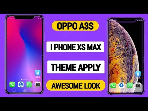 Full Download] Theme Iphone Xs Maxs For Oppo All Version