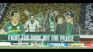 "(HD) Amazing Koreo 3D Brigata Curva Sud ""FIGHT FOR PRIDE NOT FOR PRAISE!"" PSS vS Persip Liga 2 2017"