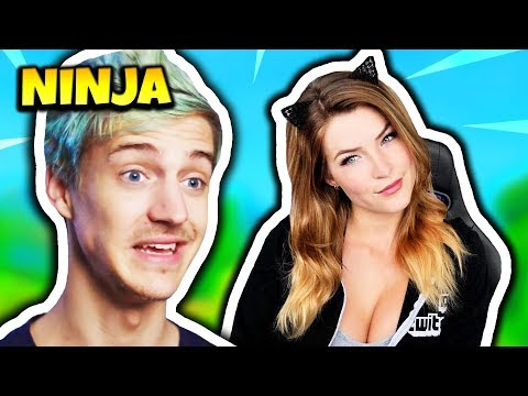 NINJA EXPLAINS WHY HE DOESN'T PLAY WITH FEMALE STREAMERS | Fortnite Daily Funny Moments Ep.146