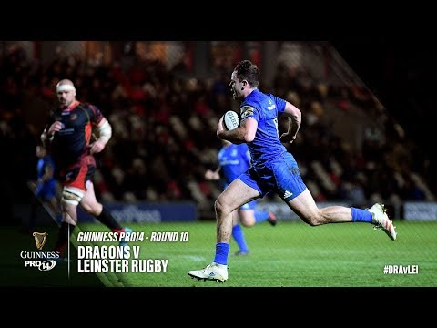 Guinness PRO14 Round 10 Highlights: Dragons v Leinster Rugby