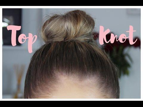 Easy Top Knot Hair Tutorial | Heidi Hamoud
