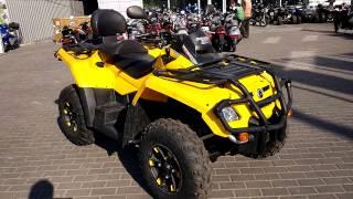 Квадроцикл BRP Outlander 800 MAX 2007 Video