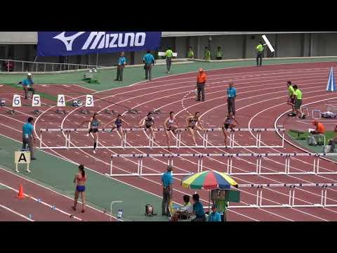 Nat'l Corp Champ2017 Women's100mH heat1 Eriko SOMA13.59(+0.6) 相馬絵里子 清山ちさと 山手美久莉