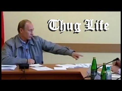 Thug Life: Putin scolds billionaire