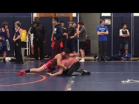 Tyceman411 (11-30-18 Tyce's second JV scrimmage match @ Horace Greeley High School)