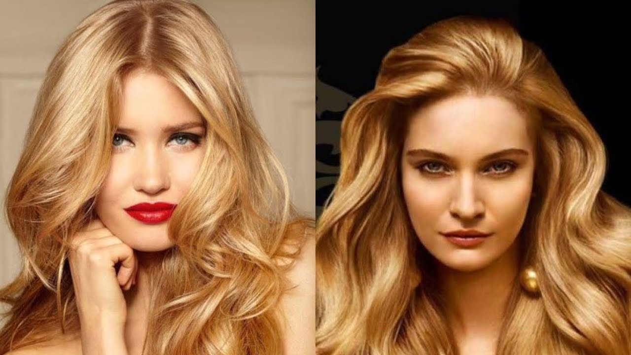 Best Hair Colors For Blue Eyes And Warm Toned Skin Youtube