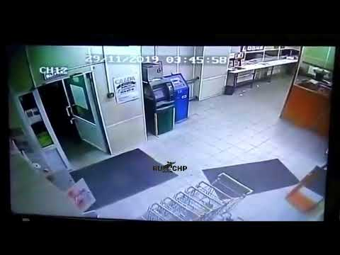 Ограбили банкомат. Тула. 2019