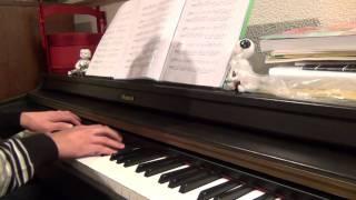 ano hana aoi shiori opening piano version