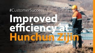 Hunchun Zijin improves efficiency by 18 % with Metso screen media and a Life Cycle Services contract