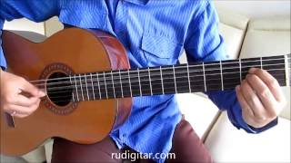Belajar Gitar Dewa 19 Kangen (Bagian 2) - Bait