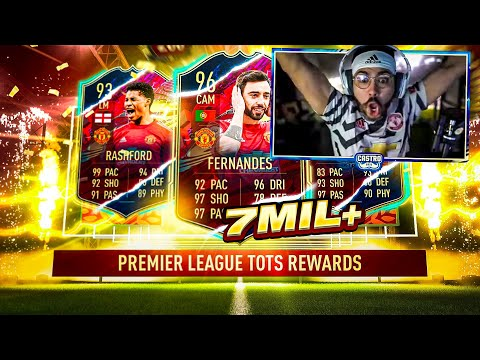 THE 7 MILLION COIN PACK!! MY PREM TOTS REWARDS!! FIFA 21