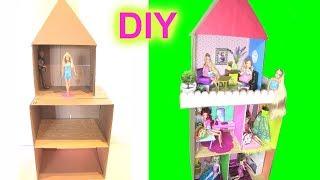 Tự Làm Ngôi Nhà Tình Bạn Cho Búp Bê (Kết Hợp Tất Cả Đồ Tự Làm Cho Ngôi Nhà Này) - đồ chơi trẻ em