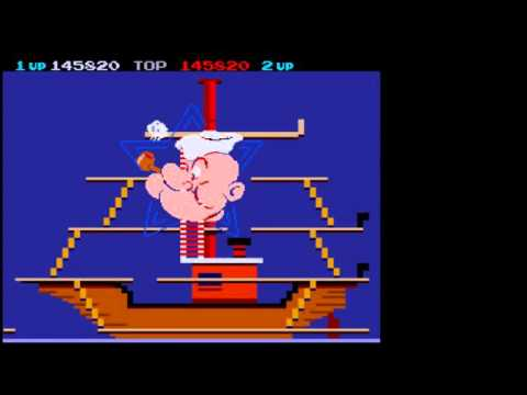 MAME World Record: Popeye [Revision D]: 2,108,230