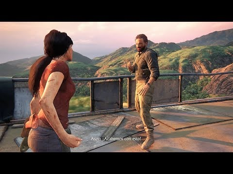UNCHARTED: EL LEGADO PERDIDO - COMBATE FINAL!
