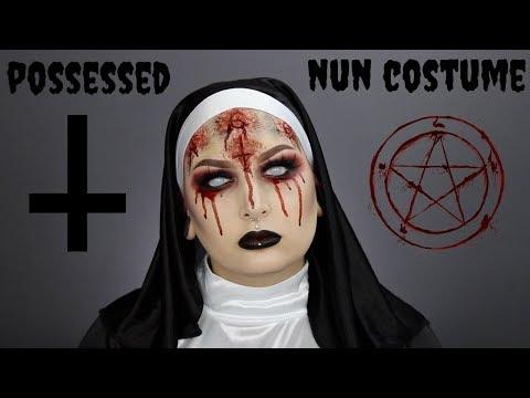 Possessed Nun Costume Tutorial
