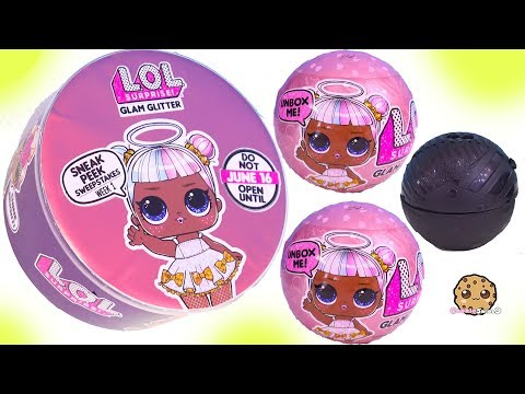 LOL Surprise Glam Glitter !!! NEW Blind Bag Balls + Freebie