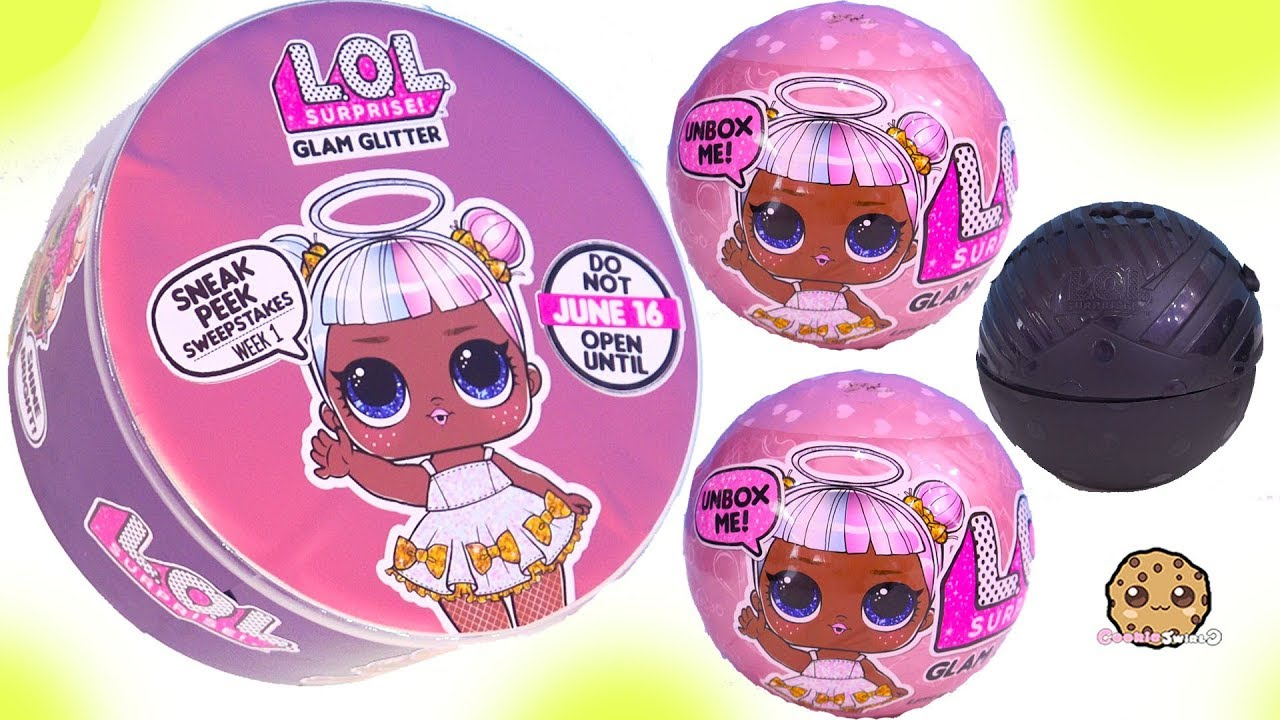 Lol Surprise Glam Glitter New Blind Bag Balls Freebie Youtube