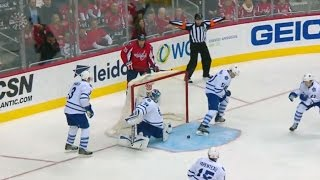 Reimer kicks out left pad to stone Williams