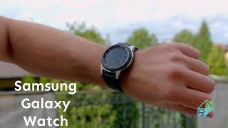 Samsung Galaxy Watch Recenzja ⌚ Smartwatch ze świetną baterią do Androida i iOS | Robert Nawrowski