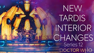 Doctor Who Series 12 New TARDIS Interior Changes