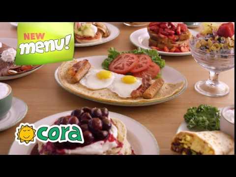 Cora Restaurants – New Menu