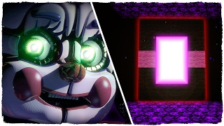 👉 COMO HACER UN PORTAL A LA DIMENSIÓN DE FIVE NIGHTS AT FREDDY'S SISTER LOCATION - MINECRAFT