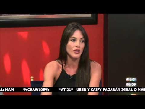 La entrevista con Marky: Nataly Umana y Alejandro Estrada.