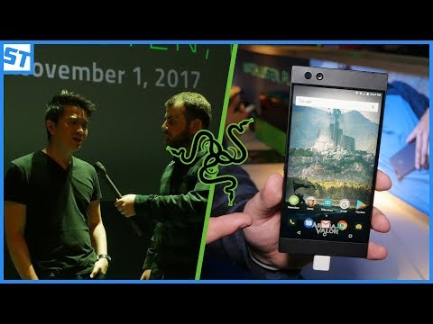 EXCLUSIVE Min-Liang Tan interview, and Razer Phone HANDS ON!